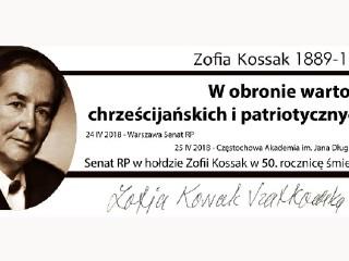 W hołdzie Zofii Kossak