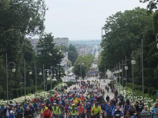 Na rowerach z całej Polski