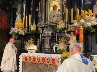 Dziękczynienie za ocalenie życia Jana Pawła II