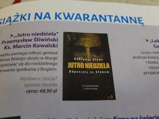 Książki na kwarantannę